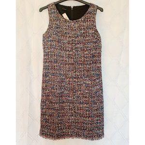 NWT Talbots multi color Tweed Dress